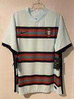 NWT $165 Nike Portugal 2020 Vapor Match Away Soccer Jersey CD0600-336 Sz XLarge