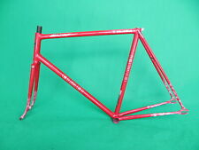Eimei Red NJS Approved Keirin Frame Set Track Bike Fixed Gear Fixie 55.5cm