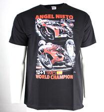 "New Angel Nieto"" 12+1 veces campeón mundial"" - Negro T-shirt X-Large/Xl"