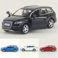 1:36 Audi Q7 V12 SUV Model Car Alloy Diecast Toy Vehicle Pull Back Kids Gift