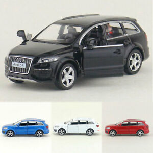 1:36 Audi Q7 V12 SUV Model Car Alloy Diecast Toy Vehicle Pull Back Kids Gift