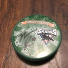Worcester Sharks Nate Raduns #10 St. Patricks Day Autographed Mystery Puck