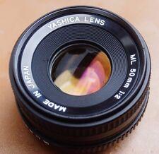 Yashica ML 50mm f2 primer Lente Contax/Yashica Mf Lente Monte Agradable