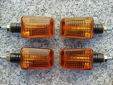 Yamaha XJ XS 250 400 650 750 850 1100 Virago Black/Amber MOTORCYCLE TURN SIGNALS