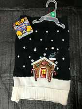 Ugly Sweater For Dogs: Gingerbread House/Medium