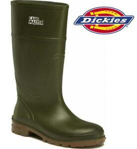 Dickies Landmaster Wellington Boot , Waterproof, Lightweight - FW91105