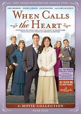 When Calls the Heart TV Series Complete Year / Season 5 ~ NEW 6 MOVIE DVD SET