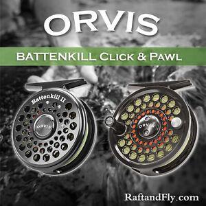 Orvis Battenkill I Click Pawl 1-3wt Fly Reel - FREE SHIPPING