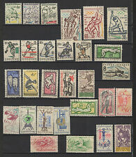 TCHECOSLOVAQUIE sport 28 timbres anciens / T1532