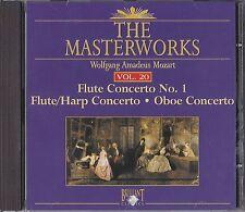 The Masterworks Vol. 20-Mozart Flute Concerto no 1,Flute/Harp Concerto, Oboe  CD
