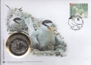 Numisbrief WWF 2006 Croatia - Sterna Albifrons / Dwergstern (003)