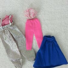 Lot of 5 Vintage 80s Barbie Doll Clothes