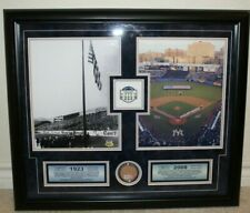 Yankee Stadium Framed Print 1923-2008 With Letter of Authenticity and Field Dirt