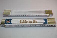 Zollstock mit  NAMEN      ULRICH   Lasergravur 2 Meter Handwerkerqualität