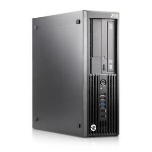 HP Z230 Workstation SFF PC Xeon E3-1225 V3 3.2GHz 8GB 1TB HDD DVD-RW WIN 10