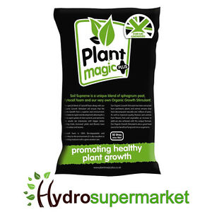BOXED - PLANT MAGIC PLUS SUPREME SOIL 50L WITH ORGANIC GROWTH STIMULANT