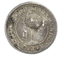 COSTA RICA: ½ real 1848 countermarked on Central American Republic