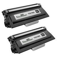 2pk For Brother TN780 Black Extra HY Toner HL-6180DW HL-6180DWT MFC-8950DW