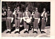 FOTO ANNI '50/'60 MILITARI ESERCITO ITALIANO - BANDA MUSICALE - C10-283