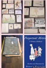 Renata Melinsky Jewish Refugee Genuine Folio Artist Author Childhood Paintings +