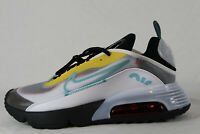 New Nike Air Max 2090 Shoes in White/Bleached Aqua-Black Colour Size US 11.5