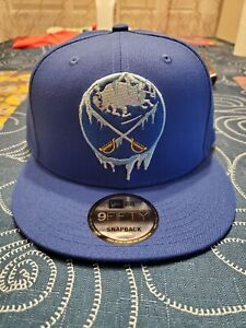 """Buffalo Sabres Frozen New Era 9FIFTY Snapback Hat Exclusive Limited """"Chilly"""" 🧊"""