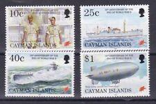 Cayman Islands 1995 50 anniversario fine II guerra mondiale 751-54 MHN