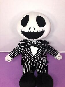 "EUC-HTF- 16"" Touchstone Pictures  Plush Jack Skellington Plush Halloween"