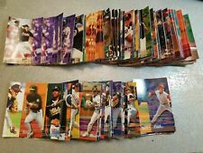 1995 Fleer Baseball BLANK BACK PROOFS OVERSIZE AND ERRORS TOO WOW YOU PICK