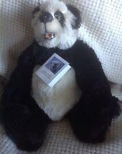 "MINT Christine Pike Bear ""Koko"" Panda 6-Way Jointed Mohair Open Mouth Teeth 16"""