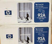 HP Laserjet 1100/3200 Cartridge C4092A  - Qty-2