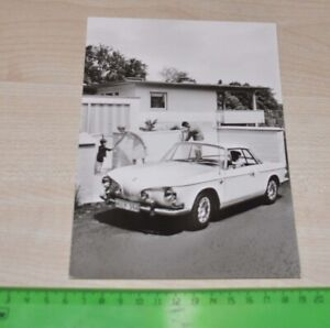 1960s Volkswagen VW Karmann Ghia Factory Photo no Brochure Prospekt