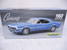 Lane Exact Detail 221C 1:18 Chevrolet Camaro SS Hardtop 1968 blau TOP in OVP