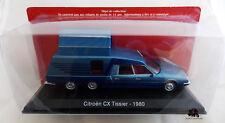 Miniature Véhicule IXO CAMPING CAR 1/43e CITROËN CX Tissier 1980 Diecast Metal