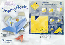 Spain FDC Origami Papiroflexia 1v M/S Cover Crafts Stamps