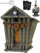 Department 56 Nightmare Before Christmas Halloween Town City Hall Village New