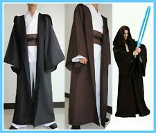 NEW! Star Wars Jedi Sith Knight Hooded Cloak Robe Cape Halloween Cosplay Costume