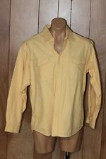 MEN'S J. CREW BUTTON-DOWN SHIRT-SIZE: LARGE