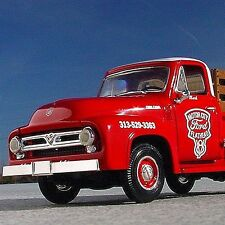 HTF - Ford V8 - MOTOR CITY FLATHEADS FOREVER 53 F100 PICKUP - First Gear