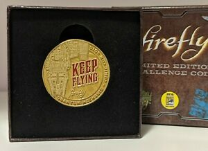 Firefly Keep Flying Limited Edition Challenge Coin (San Diego Comic Con 2016)
