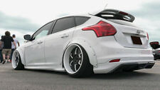 "Ford Focus mk3 Fender Flares CONCAVE wide body wheel arches 2.75"" 4pcs"