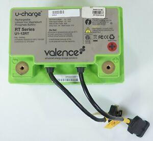 Valence Ergotron U1-12RT 40Ah Lithium Iron Medical Cart Battery 1004462