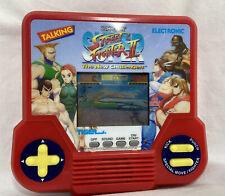 Super Street Fighter 2 Capcom Tiger Handheld Game 1994 Red Version Tested