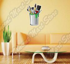 """Paint Paintbrush Bucket Art Artist Painter Wall Sticker Interior Decor 16""""X25"""""""