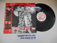 LP Punk Mimmi's - Punk Party 1989 (9 Song) BONDAGE INT Fabsi DTH Tote Hosen