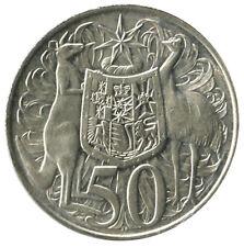 AUSTRALIA - DECIMAL COIN: 1966 SILVER 50c - EXCELLENT CONDITION