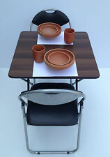 folding dining table folding chairs bistro patio cafe canteen tables chairs