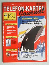 Telefon - Karten Journal 4/1996 ü-Ei-Figuren Trading Cards Burne Hogarth Tarzan