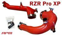 RPM-SxS Polaris RZR Pro XP Silicone Charge Tube Kit 2020-2021 RED