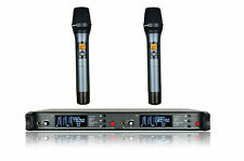 Professional Dual Wireless Vocal mic Microphone System  FOR Sennheiser Wireless